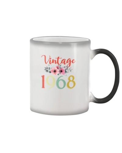 Vintage Flower 1968 51st Birthday