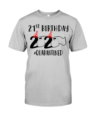 2020 Toilet Paper Quarantined 1999 21st Birthday
