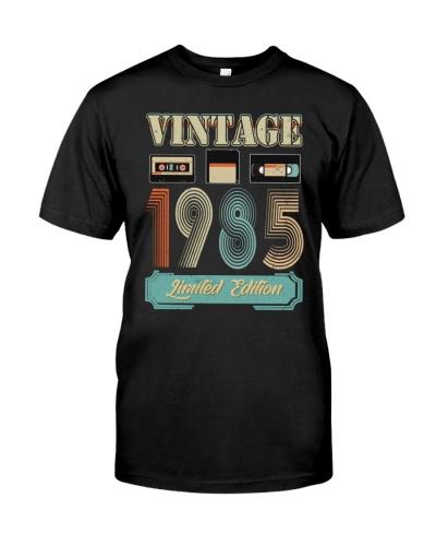 Vintage Cassette 1985 34th Birthday
