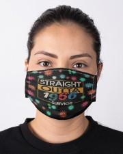 Straight Outta 1966 Survivor Cloth face mask aos-face-mask-lifestyle-01