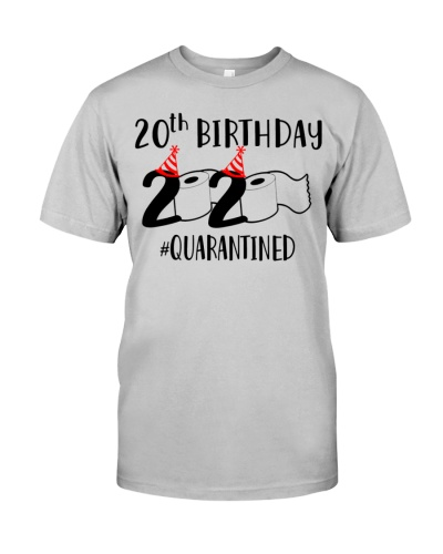 2020 Toilet Paper Quarantined 2000 20th Birthday