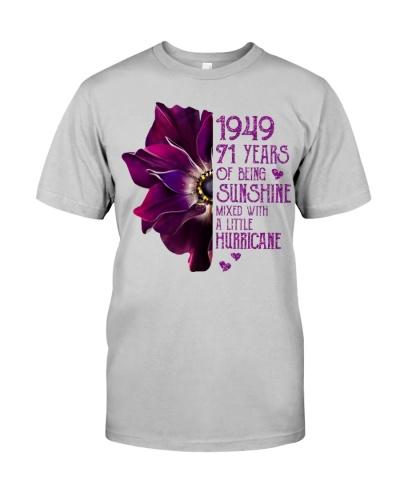Vintage Sunshine and Hurricane 1949 71st Birthday