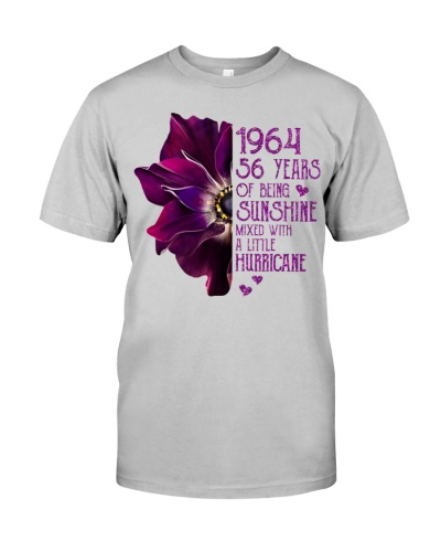 Vintage Sunshine and Hurricane 1964 56th Birthday