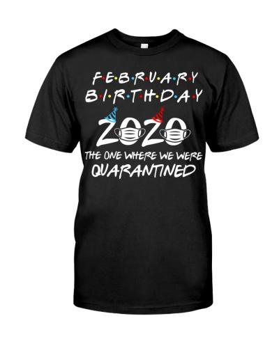 Quarantined February Birthday