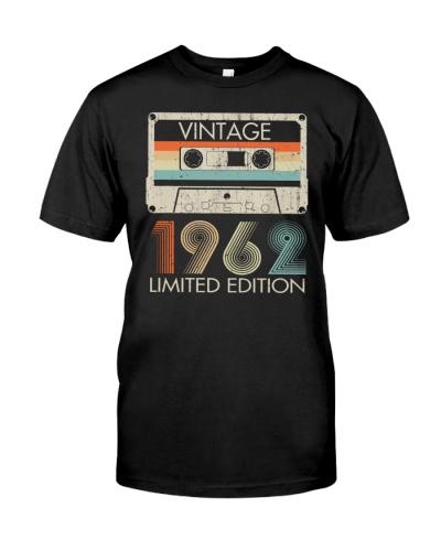 Vintage Limited Cassette 1962 57th Birthday