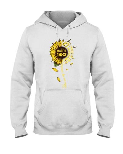 Vintage Sunflower March 1983 37th Birthday
