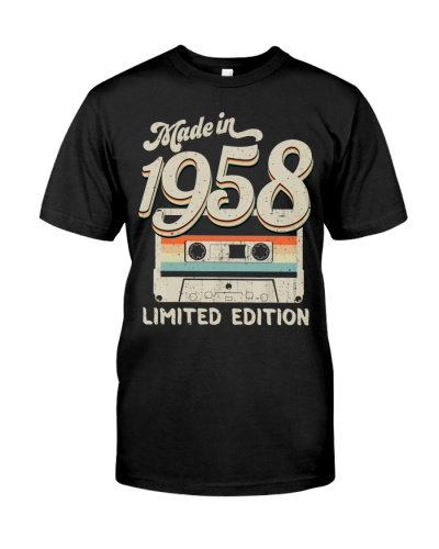 Vintage Limited Cassette 1958 61st Birthday