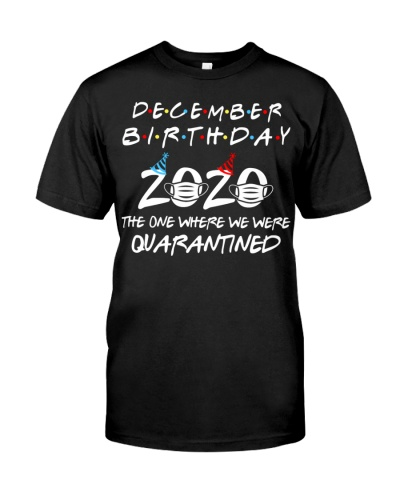 Quarantined December Birthday