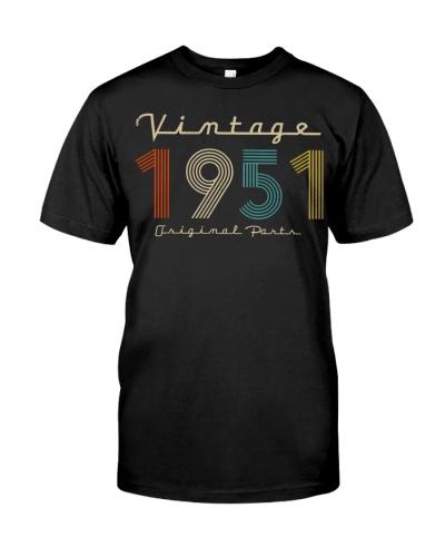 Vintage Original Parts 1951 68th Birthday
