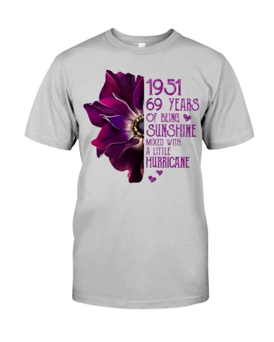 Vintage Sunshine and Hurricane 1951 69th Birthday