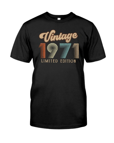 Vintage Limited Edition 1971 48th Birthday Gift