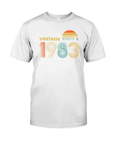 Vintage 1983 Sunset 36th Birthday 456-plus size