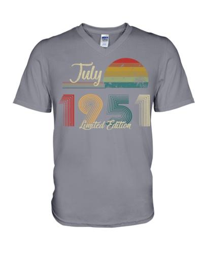 Vintage July Sunset Beach 1951