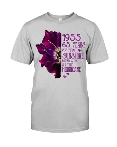 Vintage Sunshine and Hurricane 1955 65th Birthday
