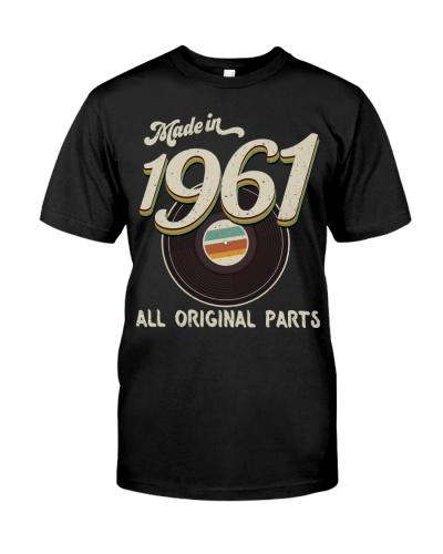 Vintage 45 Record 1961 58th Birthday