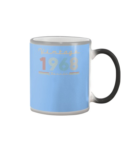 Vintage classic 1968 51st Birthday 439-plus size