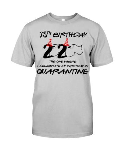 Vintage Quarantined 1985 35th Birthday