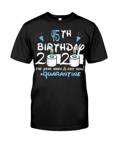 Quarantined 1975 45th Birthday