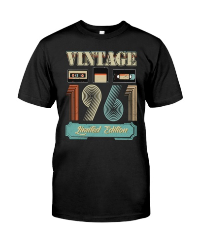 Vintage Cassette 1961 58th Birthday