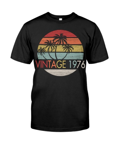 Vintage Sunset Beach 1976 43rd Birthday