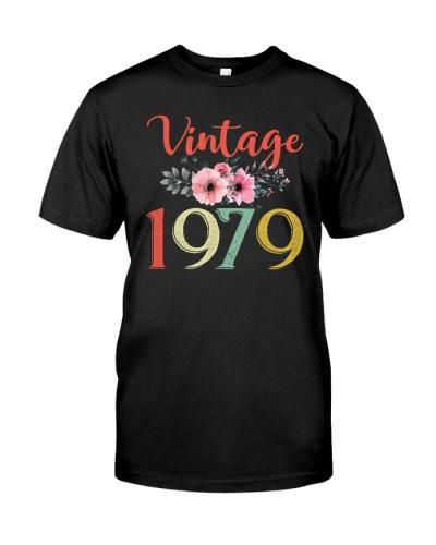 Vintage Flower 1979 40th Birthday
