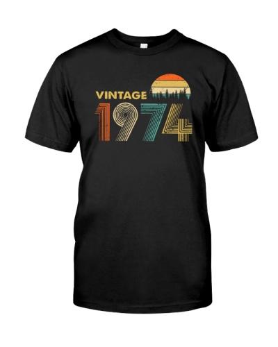 Vintage 1974 Sunset 45th Birthday
