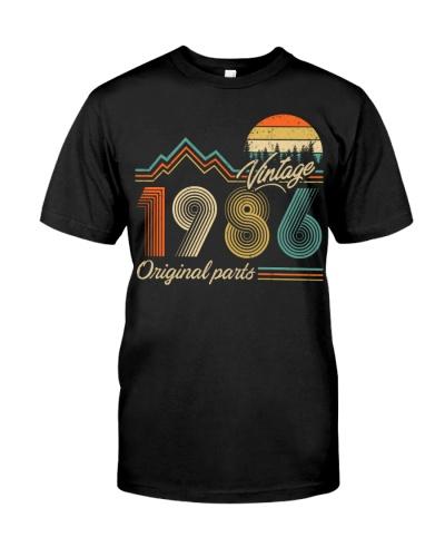 Vintage Sunset 1986 33rd Birthday