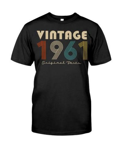 Vintage Original Parts 1961 58th Birthday