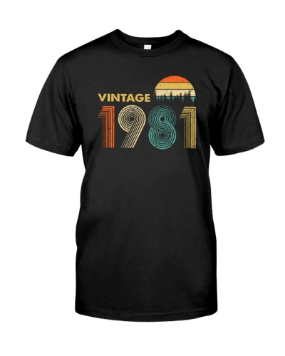 Vintage 1981 Sunset 38th Birthday 456-plus size