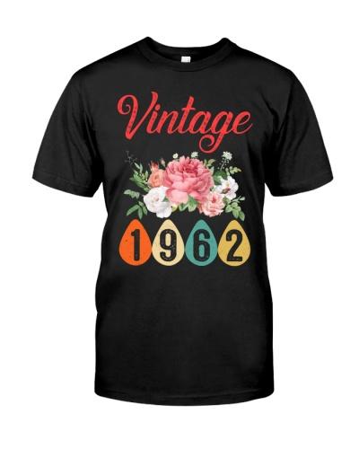 Vintage Flower 1962 57th Birthday