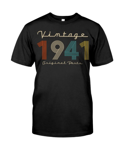 Vintage Original Parts 1941 78th Birthday