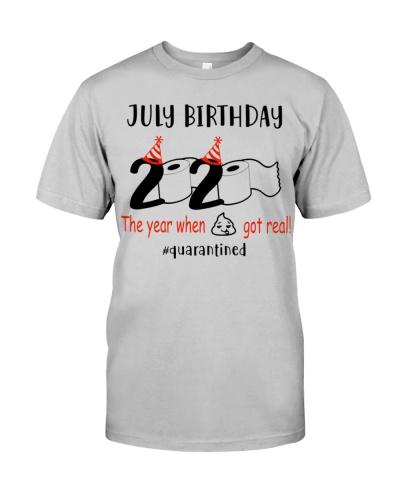 July Birthday 2020 Quarantined