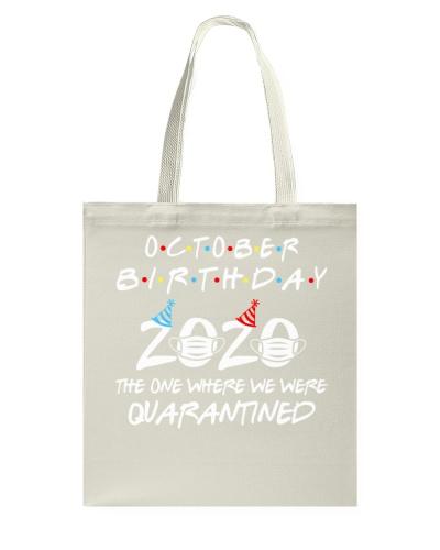 Quarantined October Birthday