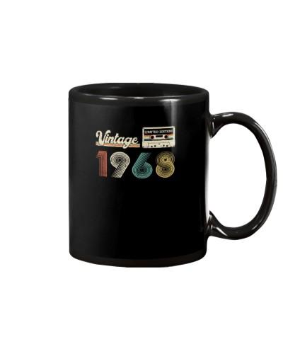 Vintage Cassette 1968 51st Birthday gift