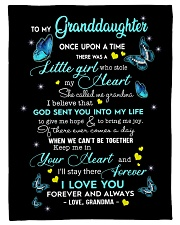 """Family To My Granddaughter I Love You Small Fleece Blanket - 30"""" x 40"""" front"""