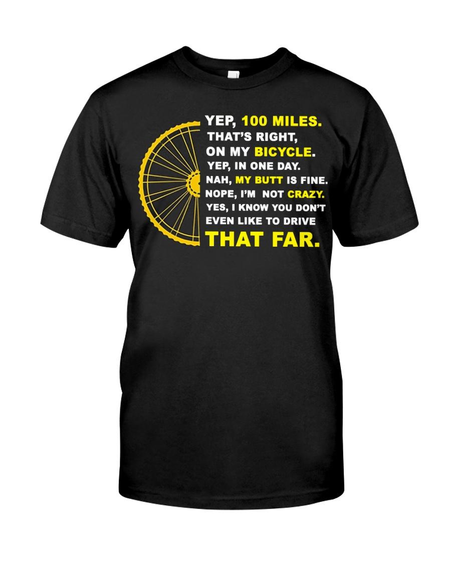 YEP 100 MILES T-Shirt Love Cicyling Classic T-Shirt