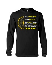 YEP 100 MILES T-Shirt Love Cicyling Long Sleeve Tee thumbnail