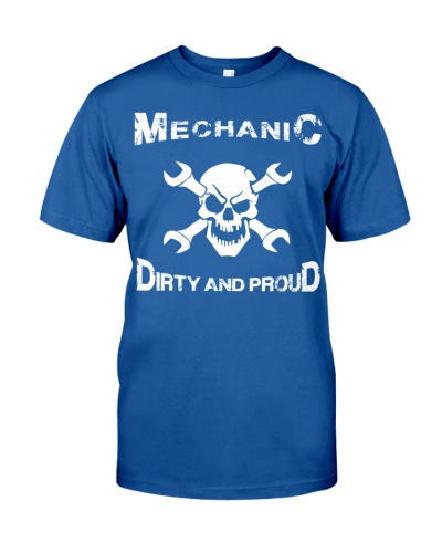 mechanic Dirty And Proud