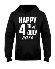 Happy 4th of July T-Shirt Independence Day 2018 Te Hooded Sweatshirt thumbnail
