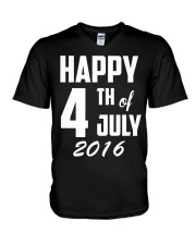 Happy 4th of July T-Shirt Independence Day 2018 Te V-Neck T-Shirt thumbnail