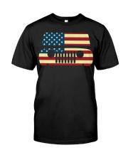 American Flag T-shirt usa t shirt American Flag Gi Classic T-Shirt front