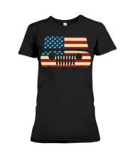 American Flag T-shirt usa t shirt American Flag Gi Premium Fit Ladies Tee thumbnail