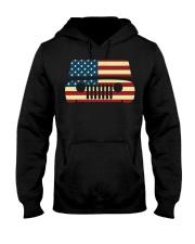 American Flag T-shirt usa t shirt American Flag Gi Hooded Sweatshirt thumbnail