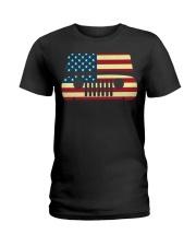 American Flag T-shirt usa t shirt American Flag Gi Ladies T-Shirt thumbnail