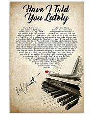 Have I Told You Lately That I Love You 11x17 Poster front
