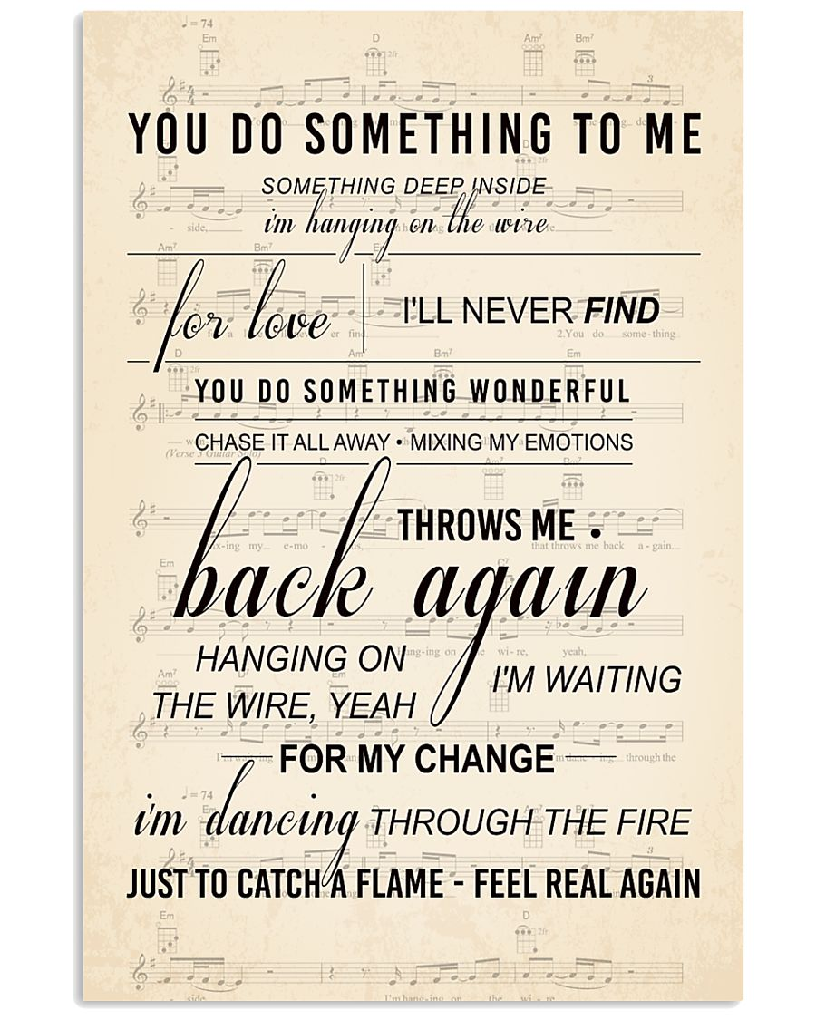 You Do Something To Me 11x17 Poster