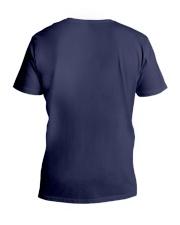 Like father like son piano V-Neck T-Shirt back