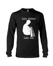 Like father like son piano Long Sleeve Tee thumbnail