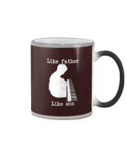 Like father like son piano Color Changing Mug thumbnail