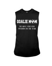Soccer - Goalie mom Sleeveless Tee thumbnail